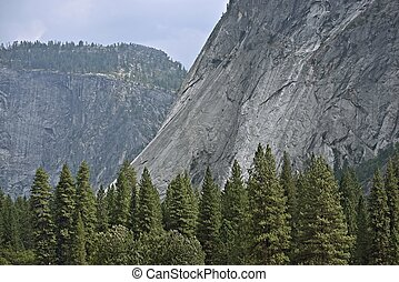 Yosemite Valley Scenery