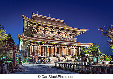 Yoshinoyama, Nara Temple - Kinpusenji Temple in Yoshinoyama,...