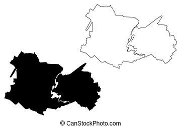 Yoshkar Ola City (Russian Federation, Russia, Mari El ...