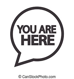 You are here icon