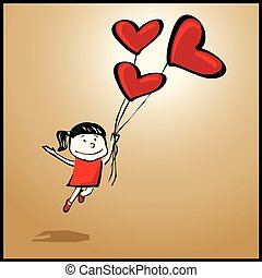 You can fly when you are in love