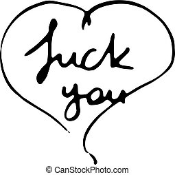 you., empate, letras, impresiones, moderno, polvo, mano, ...