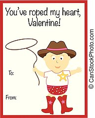 You Have Roped My Heart Valentine