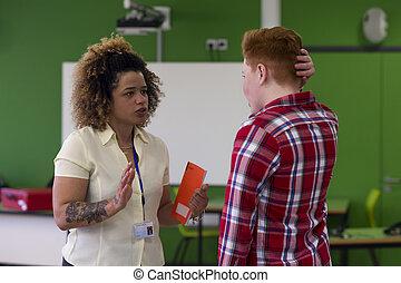 You need to start doing your school work! - Teenage student...