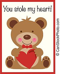 You Stole My Heart Valentine