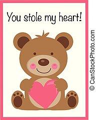 You Stole My Heart Valentine