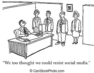 "You will be absorbed by social media - ""We too thought we..."