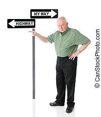 you!, wziąć, przedimek określony przed rzeczownikami, highway!