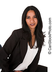 Young adult businesswoman - Beautiful young adult Indian...