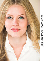 Young adult woman - Portrait of a beautiful young adult...