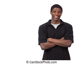 Young African American Male