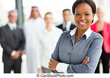 young african businessowoman