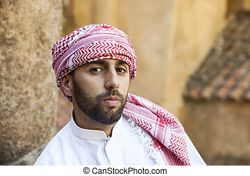 young arabic man