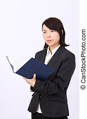 Young asian businesswoman