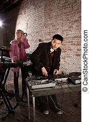 Young Asian DJ