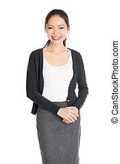 Young Asian female portrait