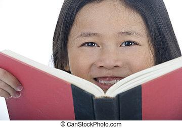 Young Asian School Girl