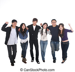 young Asian team