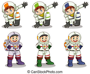 Young astronauts