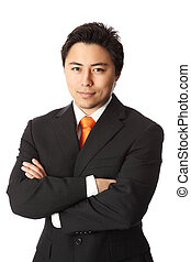 Young attractive businessman