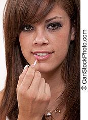 Young attractive caucasian twenties woman