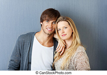 young attractive couple