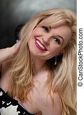 Young attractive twenties caucasian woman