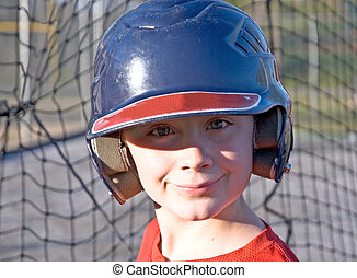 Young Baseball Player