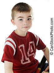 Young Baseball Portrait