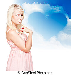 young beautiful blonde
