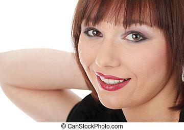 Young beautiful Caucasian girl