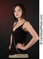 Young beautiful Christian woman
