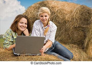 Farm girls young 'Farm Girl