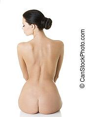 Young beautiful nude woman