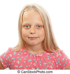 Young blond girl