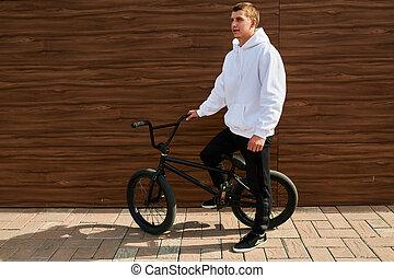 Young BMX Rider