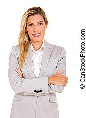 young business executive portrait
