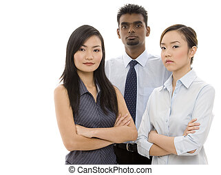 Young Business People 3 - A diverse group of confident...
