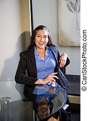 Young businesswoman - Portrait of young confident...