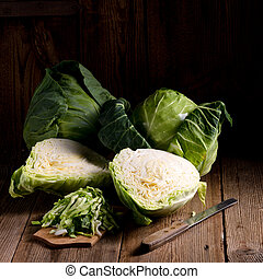 young cabbage