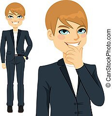Young Casual Businessman