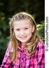 Young Caucasian Girl