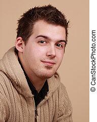 young caucasian man
