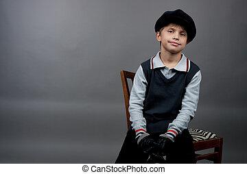 old fashioned boy