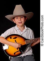 Young Cowboy Musician