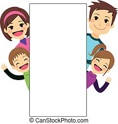 Young Family Placard
