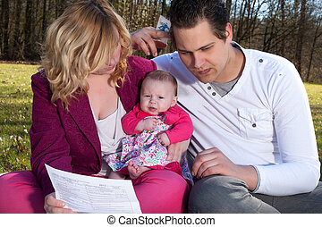 Young family victims of the recession - Young family is...
