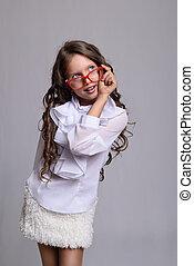 young fashion girl