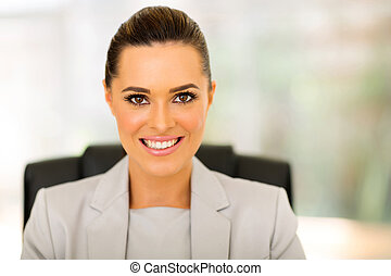 young female corporate worker portrait