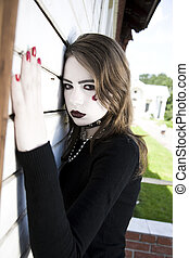 Young Female Goth